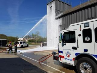 Foam Operations at the West County Training Facility